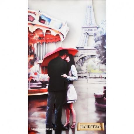 """Картина из бумаги Папертоль РТ150035 """"Наш Париж"""" фото"""