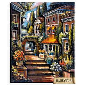 """Картина из бумаги Папертоль РТ150064 """"Цветущий переулок - 2"""""""