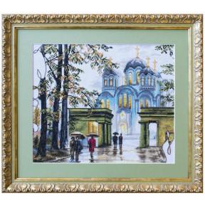 Набор для вышивания крестом Нова Слобода РЕ-3348 Владимирский собор