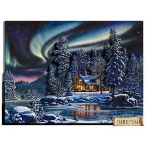"""Картина из бумаги Папертоль РТ150099 """"Северное сияние"""""""