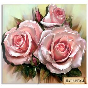 """Картина из бумаги Папертоль РТ150122 """"Королева цветов"""""""