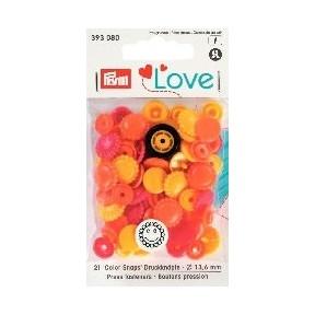 PL Кнопки Col Цветок Prym 393080