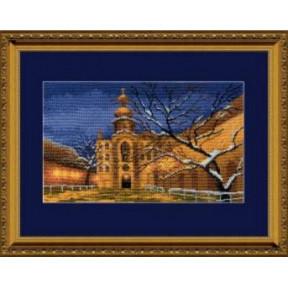 Набор для вышивки крестом Чарівна Мить 360ч Зимний храм