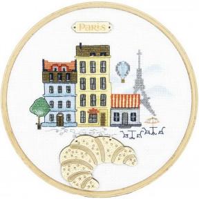 Набор для вышивания крестиком Чарівна Мить М-304 Париж