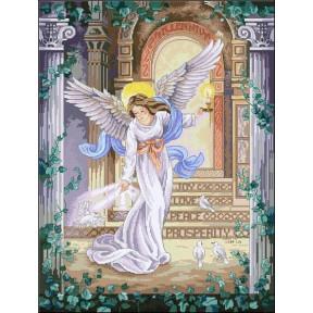 Набор для вышивания крестом Classic Design Ангел Тысячелетия 4433