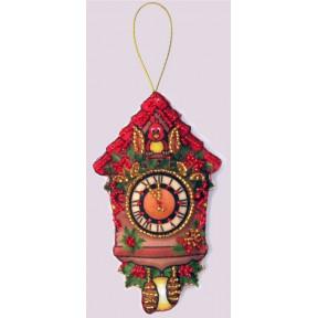 Набор для вышивания бисером Butterfly F 085 Часы