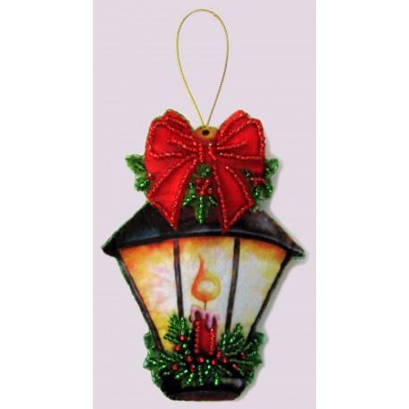 Набор для вышивания бисером Butterfly F 096 Фонарик фото