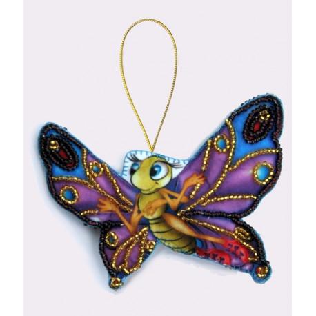 Набор для вышивания бисером Butterfly F009 Бабочка фото