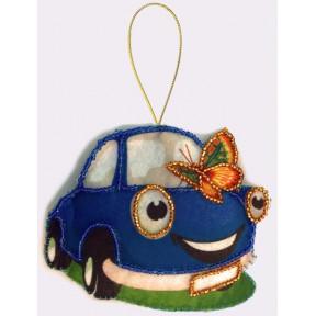 Набор для вышивания бисером Butterfly F036 Машинка