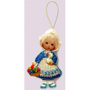 Набор для вышивания бисером Butterfly F044 Кукла. Голландия
