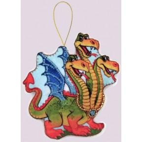 Набор для вышивания бисером Butterfly F108 Змей Горыныч