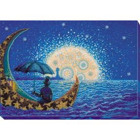 Набор для вышивки бисером на холсте Абрис Арт АВ-623 «Лунная Соната»