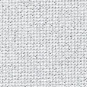 Ткань для вышивания 3793/17 Fein-Aida 18 (36х46см) белый с серебристым люрексом