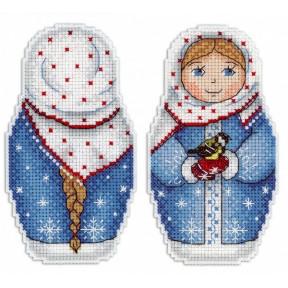 Набор для вышивки крестом МП Студия Р-265 Зимушка зима