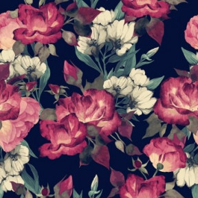 Декоративная наволочка Матренин Посад 9092ш Цветочная