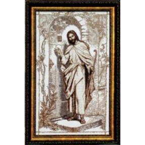 Набор для вышивки Чарівна Мить354ч Иисус,стучащий в дверь