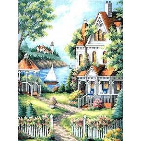 Набор для вышивания крестом Dimensions 35128 Cove Haven Inn