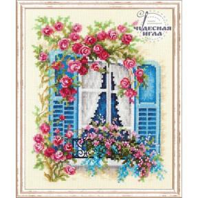 Набор для вышивки крестом Чудесная игла 74-01 «С видом на море»