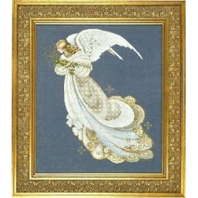 Схема для вышивания Lavender Lace LL59 Angel of Dreams