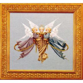 Схема для вышивания Lavender Lace LL17 Heavenly gifts