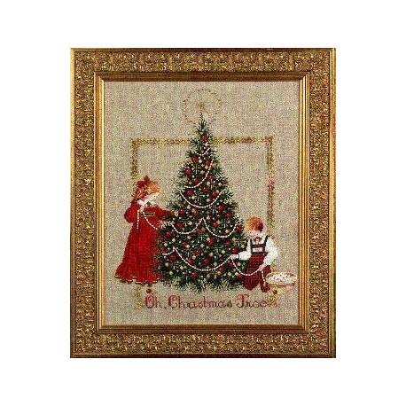Схема для вышивания Lavender Lace LL24 Oh Christmas Tree! фото