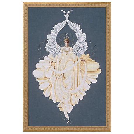 Схема для вышивания Lavender Lace LL43 Peace Angel фото