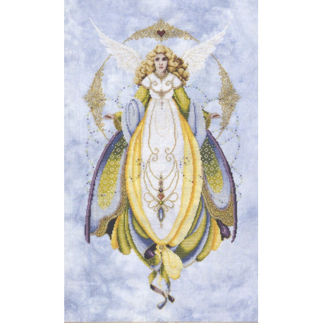 Схема для вышивания Lavender Lace LL57 Angel Of Healing фото