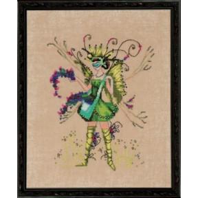 """Схема для вышивания """"The Berry Collector//Собиратель ягод"""" Nora"""