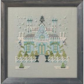 """Схема для вышивания """"The Gothic House//Готический дом"""" Nora"""