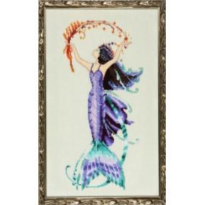 """Схема для вышивания """"Sea Flora//Морская Флора"""" Nora Corbett"""