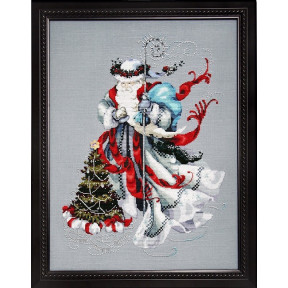 Схема для вышивания Mirabilia Designs MD100 Winter White Santa