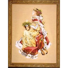 Схема для вышивания Mirabilia Designs MD78 Royal Holiday фото