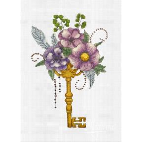 Набор для вышивания крестиком Марічка НКА-006 Волшебный ключик