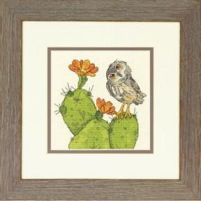 Набор для вышивания крестом Dimensions 70-65184 Prickly Owl фото
