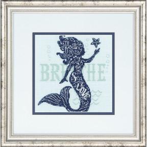 Набор для вышивания крестом Dimensions 70-65182 Mermaid Song