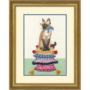 Набор для вышивания крестом Dimensions 70-35367 Cat Lady