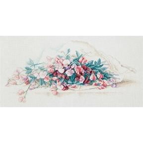 """Набор для вышивки крестом Panna Ц-1868 """"Душистый горошек"""" фото"""