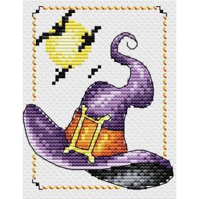 Набор для вышивки крестом МП Студия М-294 Ведьминская шляпа