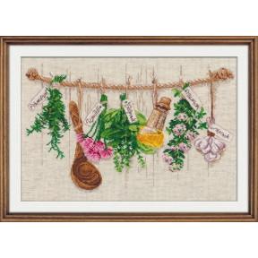 Набор для вышивки крестом Овен 1079 Душистые травы