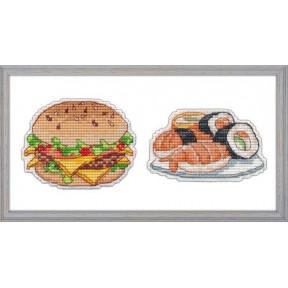 Набор для вышивки крестом Овен 1102 Приятного аппетита-1