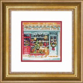 Набор для вышивания крестом Dimensions 70-08973 Coffee Shoppe