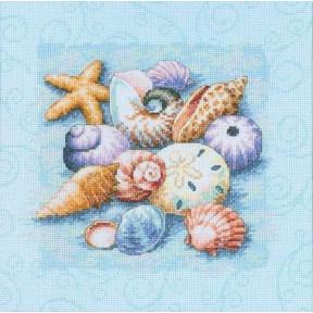 Набор для вышивания крестом Classic Design Дары моря 4454