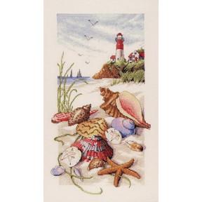 Набор для вышивания крестом Classic Design Морские сокровища