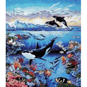 Набор для вышивания крестом Classic Design Бездонный океан 4459