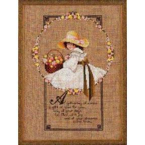 Схема для вышивания Lavender Lace TG40 Gathering Roses фото