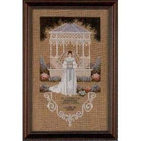 Схема для вышивания Lavender Lace TG31 Victorian Bride фото
