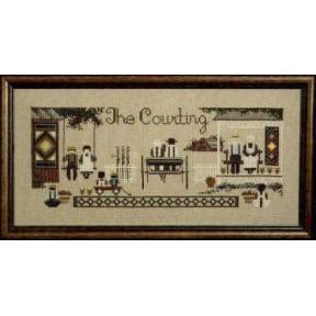 Схема для вышивания Lavender Lace TG15 The Courting фото