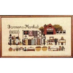 Схема для вышивания Lavender Lace TG8 Farmers Market фото