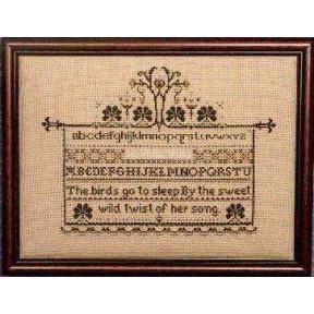 Схема для вышивания Lavender Lace TG6 Family Treasure 1 фото