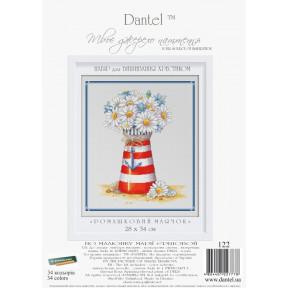 """Набор для вышивки крестом Dantel 122 """"Ромашковый маячок"""" фото"""